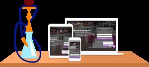 создание сайта для компании кальянный кейтеринг нарджилия